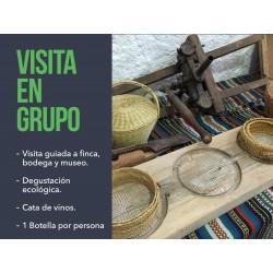 Visita en grupo a Cortijo El Cura Eco-Bodega Laujar Alpujarra