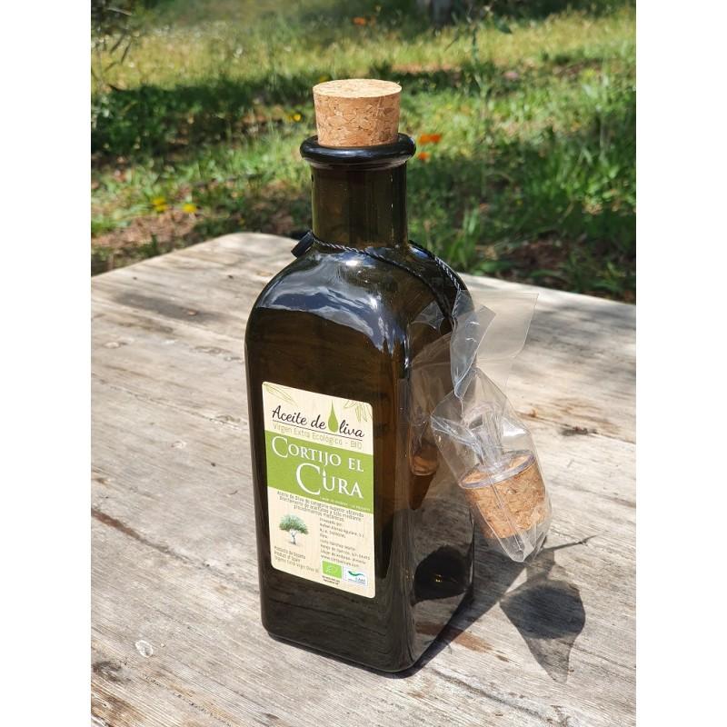Aceite de oliva virgen extra ecologico Cortijo El Cura bot 0,5 litros